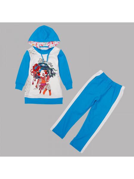 Кофта с капюшоном и брюки Nova FG4635 white