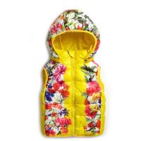 Жилет для девочки Noname DJ9355 yellow!