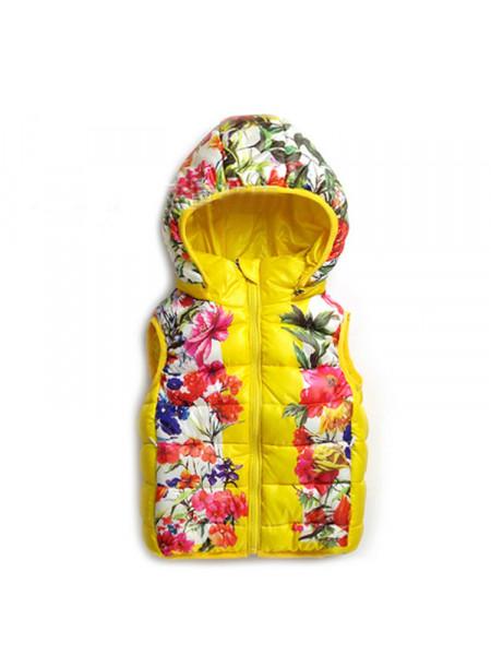 Жилет для девочки Noname DJ9355 yellow