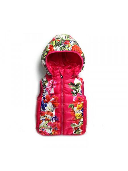 Жилет для девочки Noname DJ9355 pink