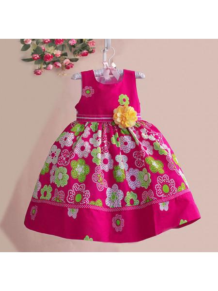 Платье Zoe Flower ZF17 fuchsia