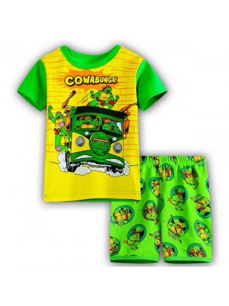 Пижама для мальчиков Noname PJ71 turtles