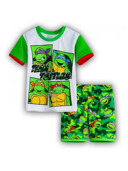 Пижама для мальчиков Noname PJ101 greenturtles
