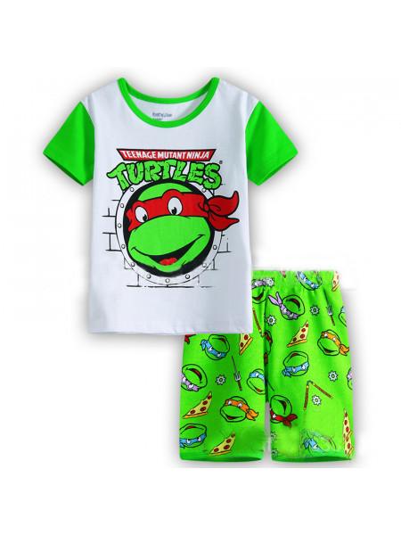 Пижама для мальчиков Noname PJ102 greenturtles