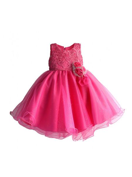 Платье Zoe Flower ZF90 fuchsia