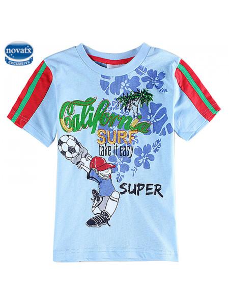 Футболка Nova C6072 blue