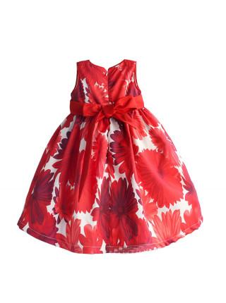 Платье Zoe Flower ZF122 red