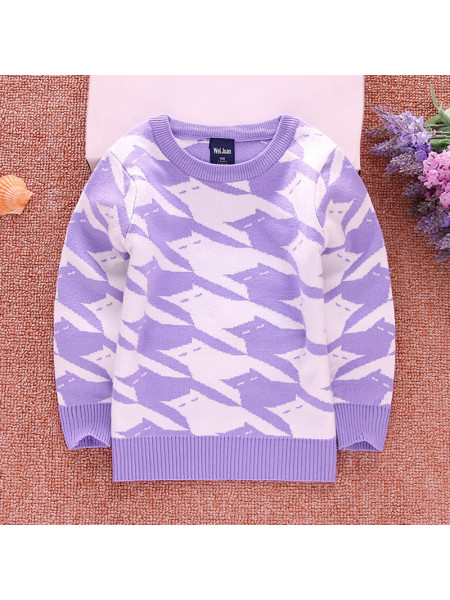 Свитер Noname SWEATER26 purple