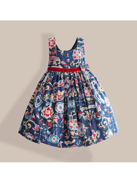 Платье Zoe Flower ZF137 blue