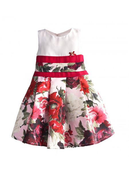 Платье Zoe Flower ZF138 white