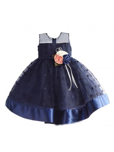 Платье Zoe Flower ZF147 navy