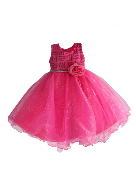 Платье Zoe Flower ZF152 fuchsia