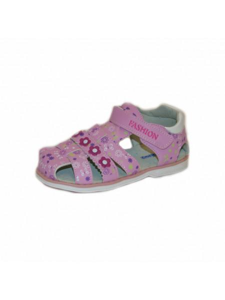 Сандалии для девочек Дракоша SAN304 pink