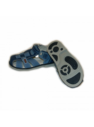 Сандалии для мальчиков Дракоша SAN401 blue