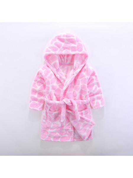Халат для девочек Noname HALAT08 pink