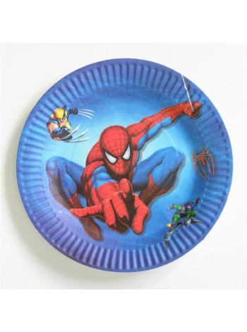 Тарелка Noname TARELKA04 spiderman