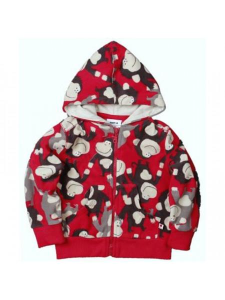 Кофта с капюшоном для мальчиков Noname A2962 red