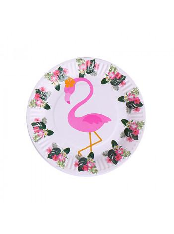 Тарелка Noname TARELKA17 flamingo