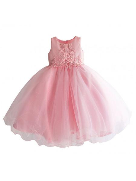 Платье Zoe Flower ZF213 pink