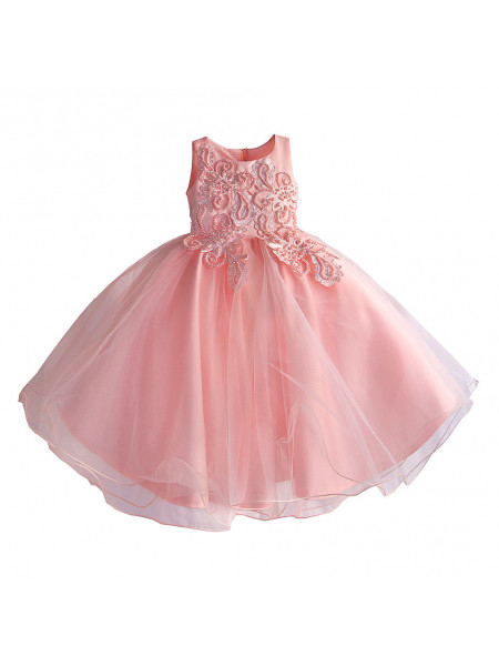 Платье Zoe Flower ZF219 pink
