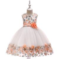 Платье M&K Collection ZF230 orange!