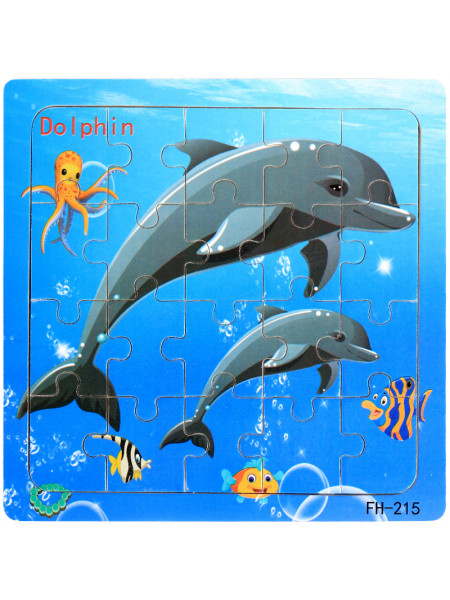 Паззл Noname KARTINA43 dolphin