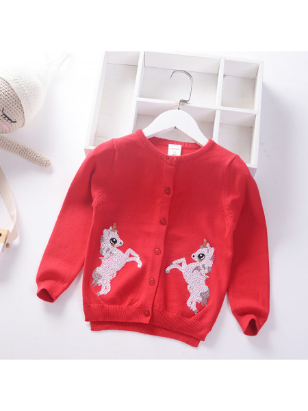Свитер Noname SWEATER184 red