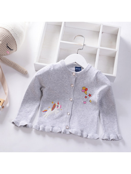 Свитер Noname SWEATER191 grey