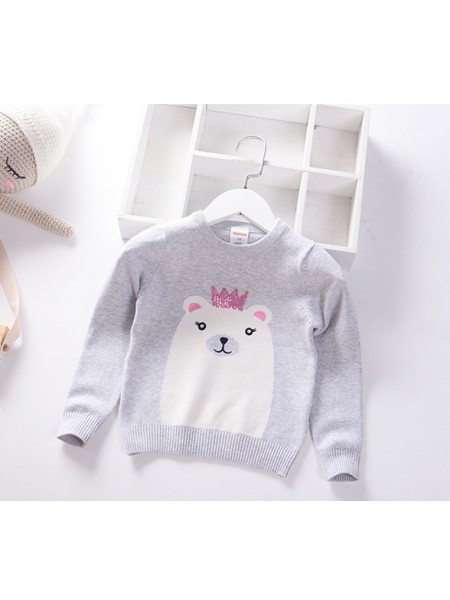 Свитер Noname SWEATER209 grey
