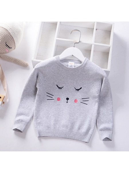 Свитер Noname SWEATER211 grey