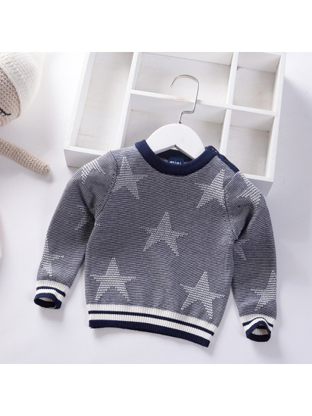 Свитер Noname SWEATER214 grey