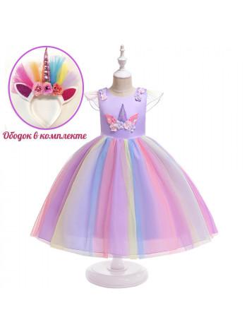 Платье MK Collection ZF294 purple
