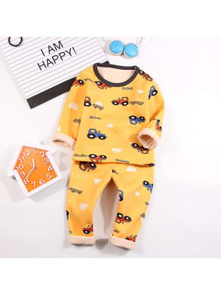 Пижама Noname PJ682 yellow